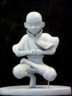 """pierre rouzier_Nickelodeon - """"aang"""" maquette"""