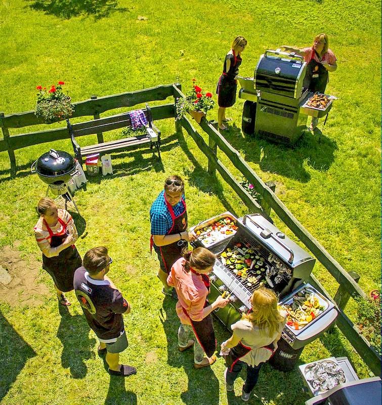 weber, grill, grill weber, garden party, sokolow, uczta qulinarna, zycie od kuchni, ogrod