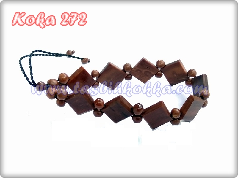 Gelang Kokka 272 kotak cokelat