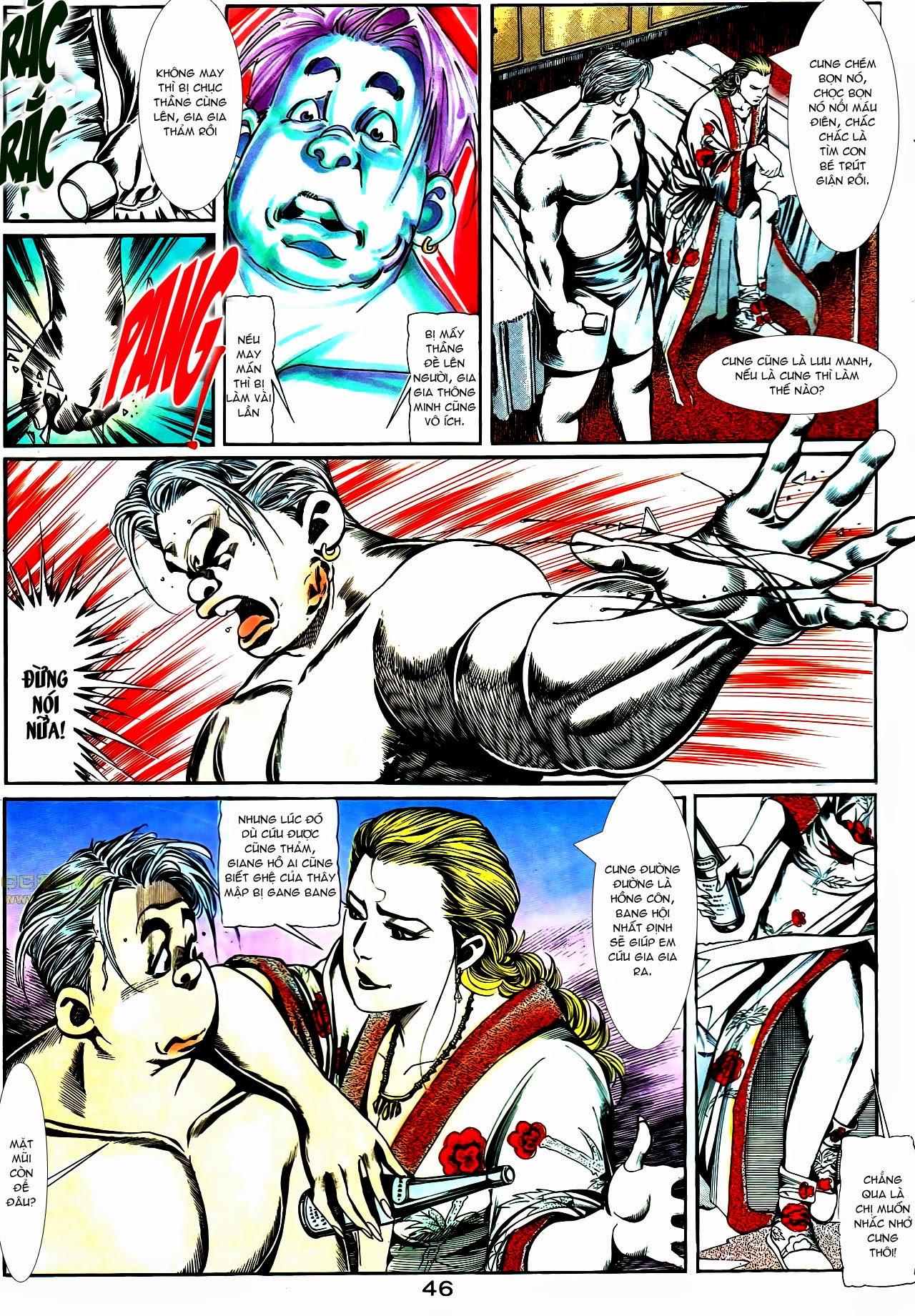 Người Trong Giang Hồ chapter 112: nhân sinh trang 17