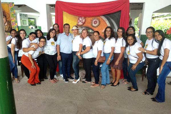 Secretaria de Educação de Iguaracy realizou encontro pedagógico abrindo novo ano letivo da Rede Municipal de Ensino