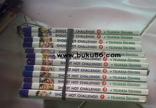 Komik Shoot Hot Challenge Lengkap