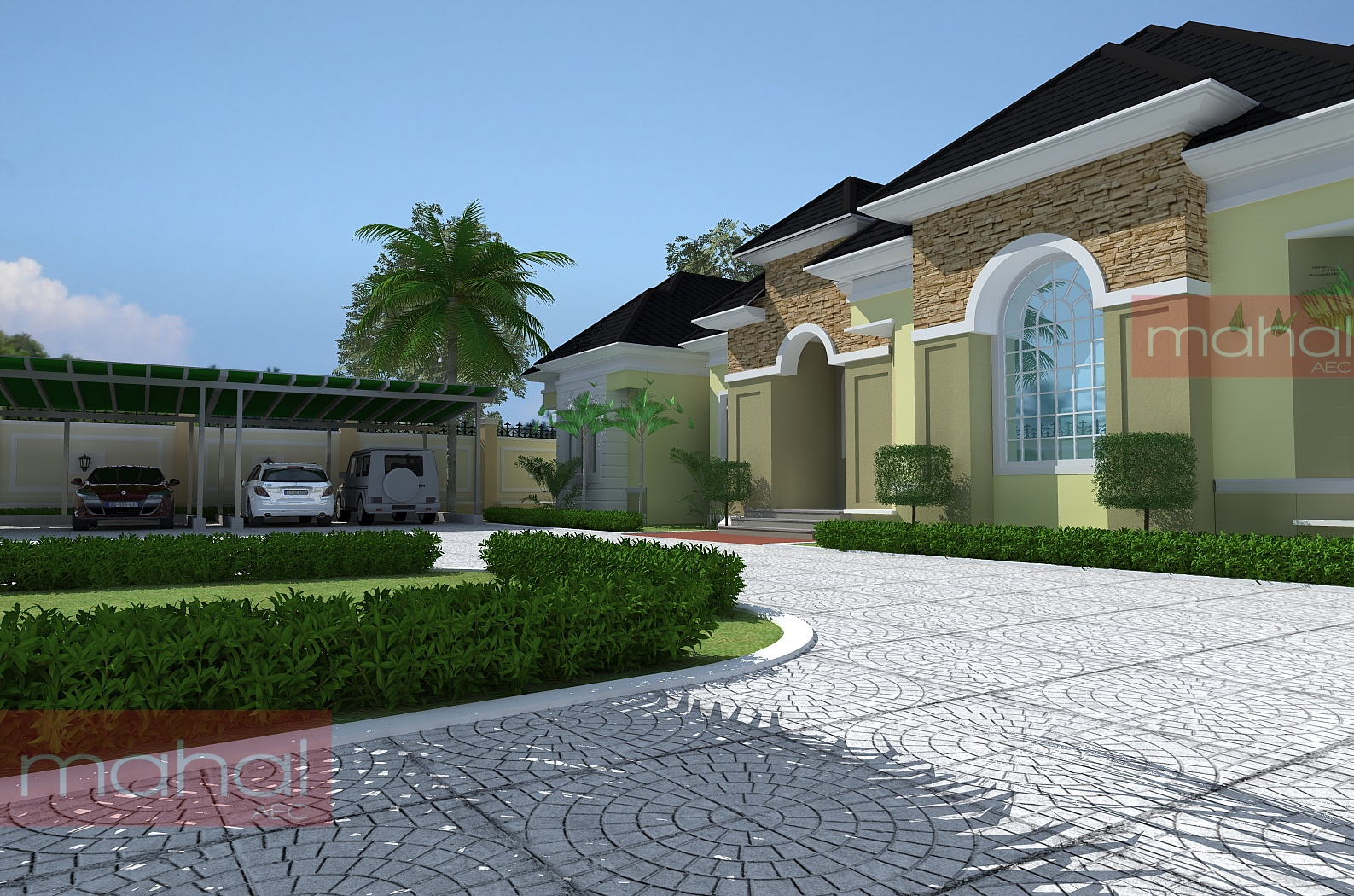 Contemporary Nigerian Residential Architecture Luxury 5 bedroom – Exotic Home Floor Plans