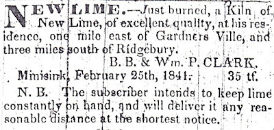 The Independent Republican, Goshen, NY March 26, 1841 edition