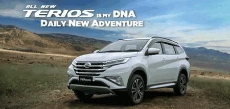 Harga Kredit Daihatsu Terios 2018