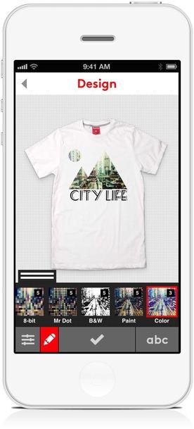 The Innovative Company: Snaptee: A Custom T-Shirt Design App