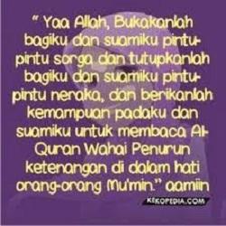 dp bbm islami doa untuk suami