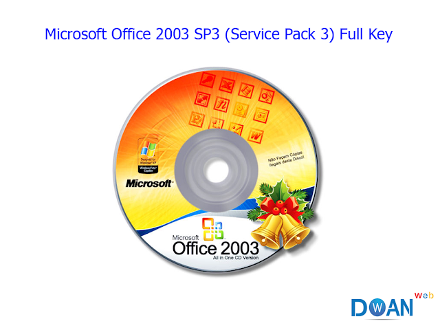 Microsoft Office 2003 SP3 (Service Pack 3) Full Key