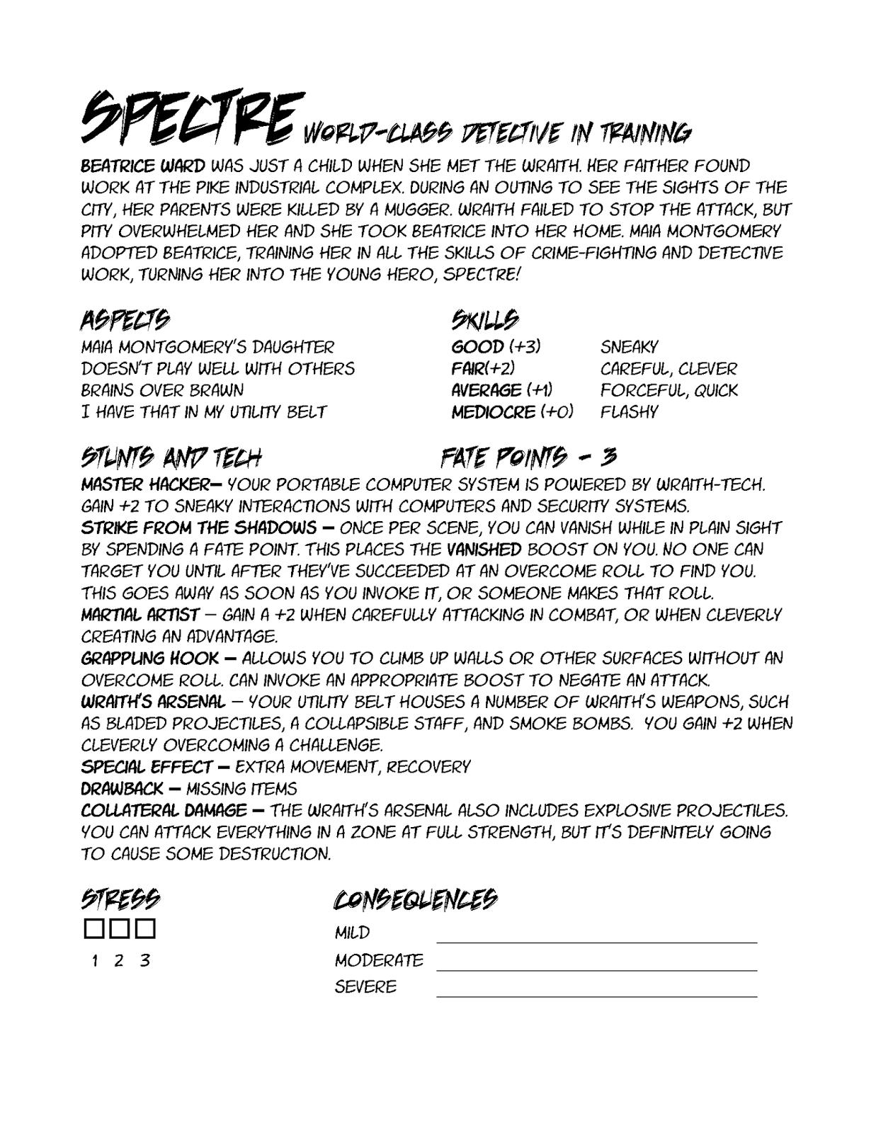 sentinels of the multiverse rpg pdf