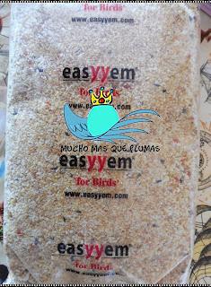 Pasta de cria Easyyem Eggfood , analisis de pasta de cria, easyyem,