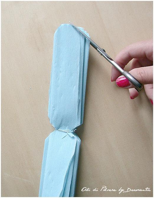 DIY: i pon pon di carta crespa