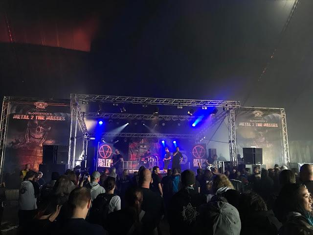 Seven Hells at Bloodstock 2018