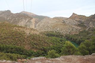 Vistas de Desfiladero de los Gaitanes El Chorro Alora Málaga Caminito del Rey Segundo Cañón