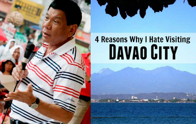 Reasons I hate visiting Davao City