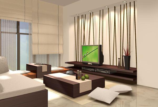 Contoh pemilihan warna cat rumah minimalis untuk ruang keluarga