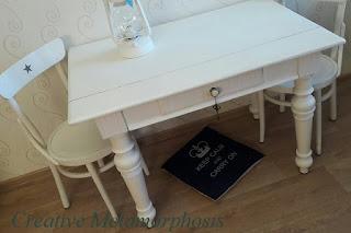 Реставрация старого стула и стола