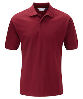 Maroon Polo shirt king size