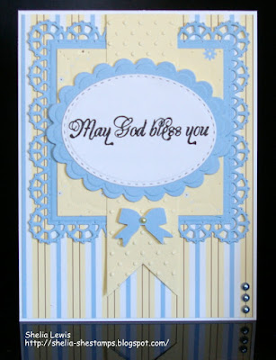 ODBD Get Well, ODBD Custom Lacey Squares Dies, Card Designer Sheila Lewis