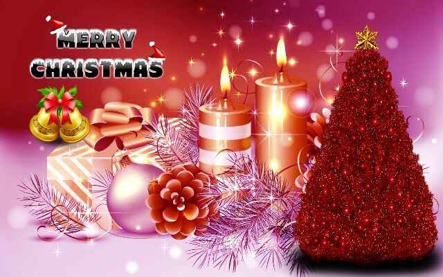 Merry Christmas 2017 SMS Message HD Wallpapers