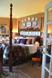 bedroom cottage english country master bedrooms before nancy dish daily floral door open queen decor bed room cottages comforter visit