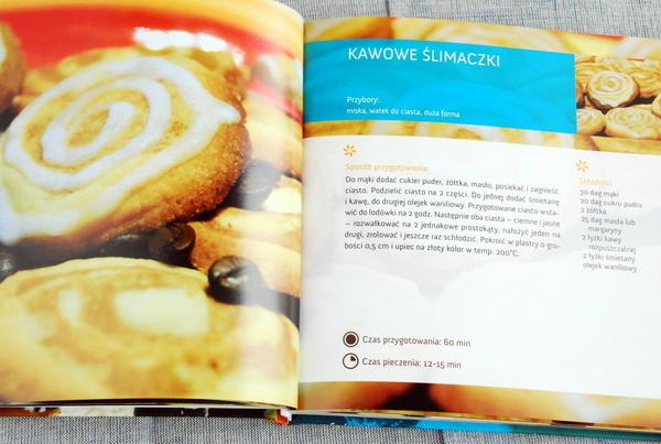 Przepis na kawowe ślimaczki