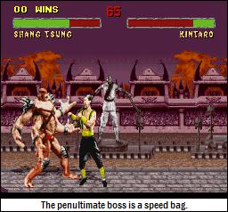 Kintaro punches