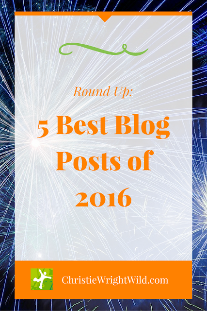 5 Best Blog Posts of 2016 | writer tips | author advice | new year's resolutions | blogging for writers