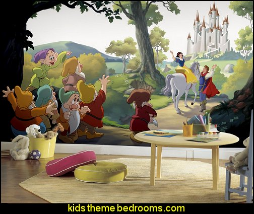 Disney Princess Snow White  Happily Ever After wallpaper mural