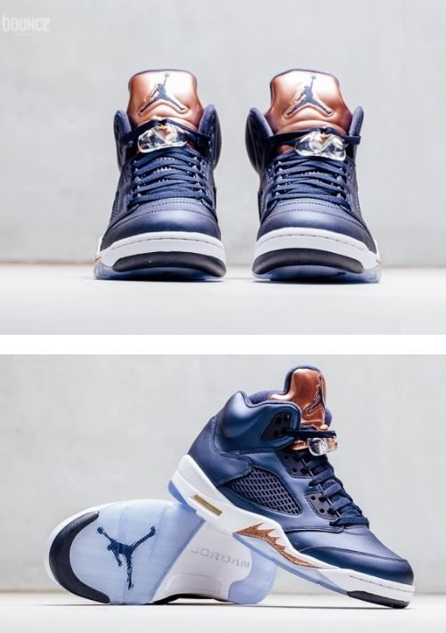 78abae862d9 ... Footlocker & HERE at Eastbay. You can also find in kids sizes HERE. The  shoe features Bronze hits on the tongue ,lacelock and on the midsole with  your ...