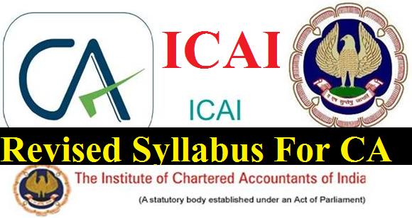 icai-revised-syllabus-for-ca-topics-paramnews