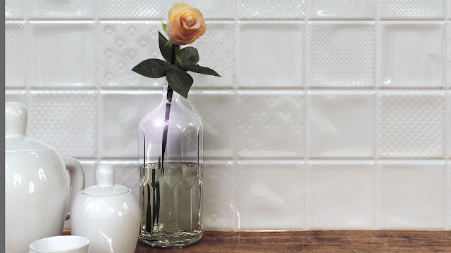 Tiles decoration ideas of Loza series