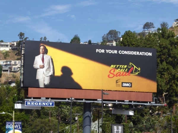 Better Call Saul 3 Emmy noms FYC billboard