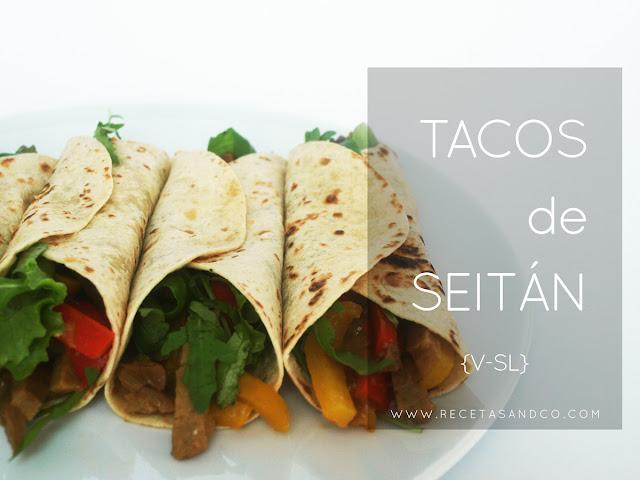 Tacos veganos seitán