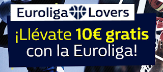 william hill promocion 10 euros gratis apostando Euroliga 5-6 abril