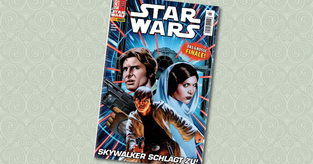 Star Wars 3 Panini Cover