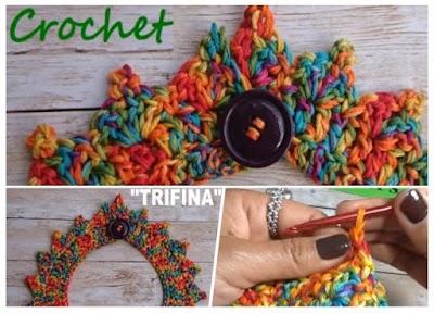 Gargantilla de Crochet en Pico Patron