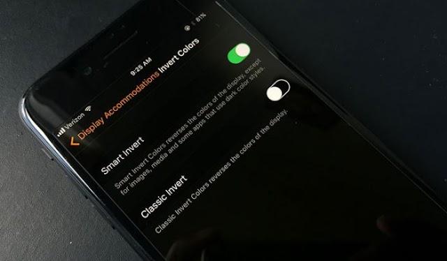 طريقة تفعيل ميزه الوضع الليلي فى نظام iOS 11