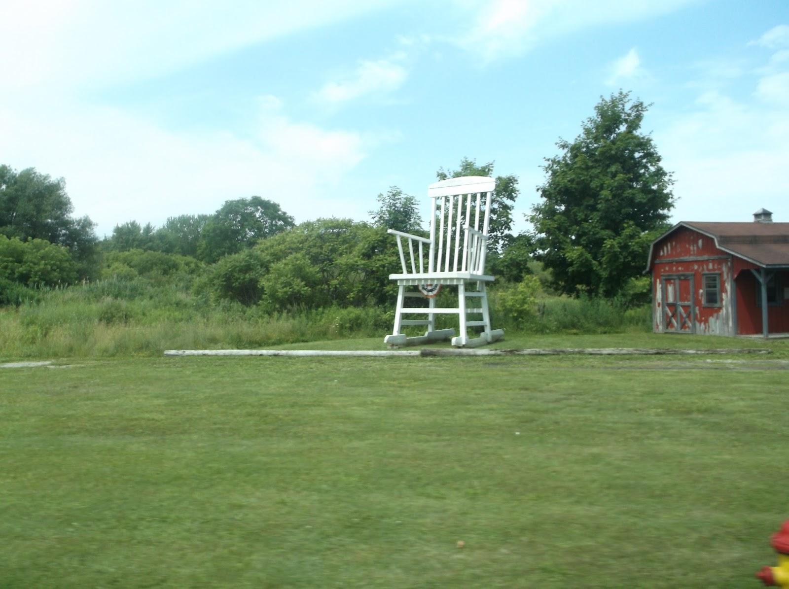 Lily Tomlin Big Rocking Chair