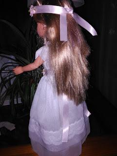 vestido para muñecas nancy