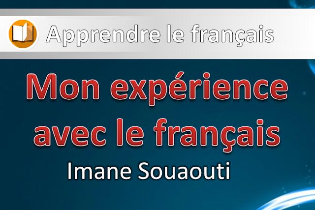 Mon expérience avec le français