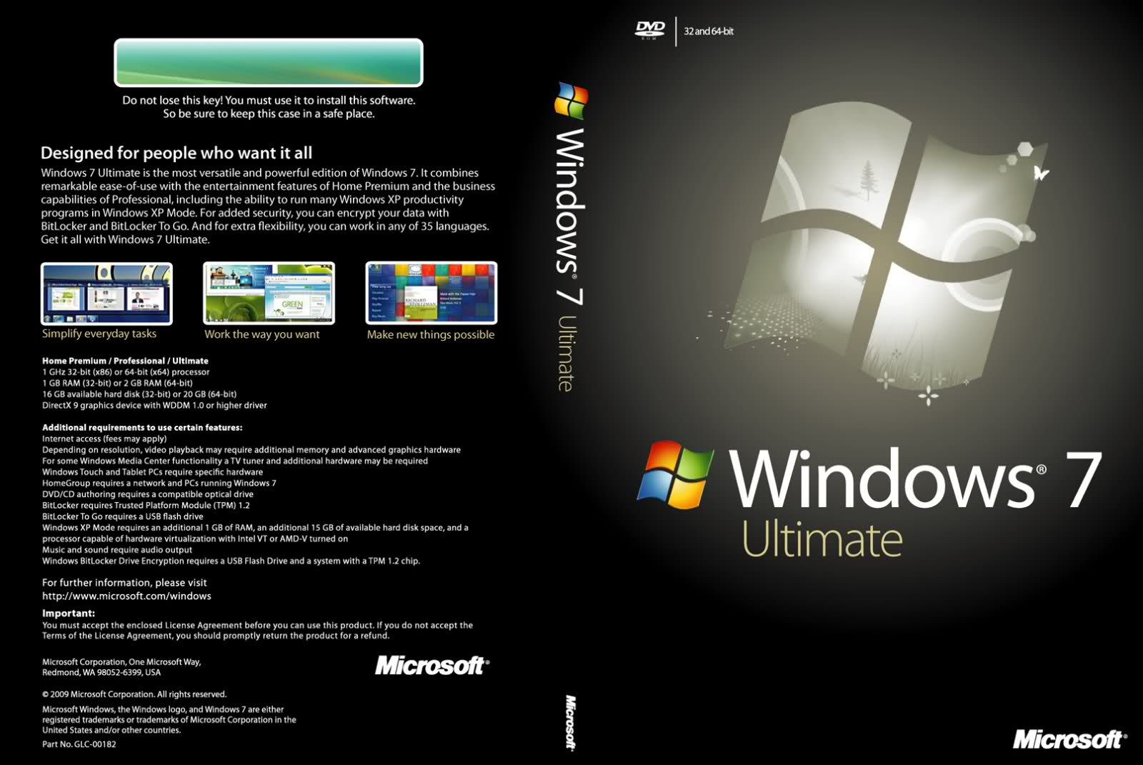 activate windows 7 ultimate 32 bit product key free