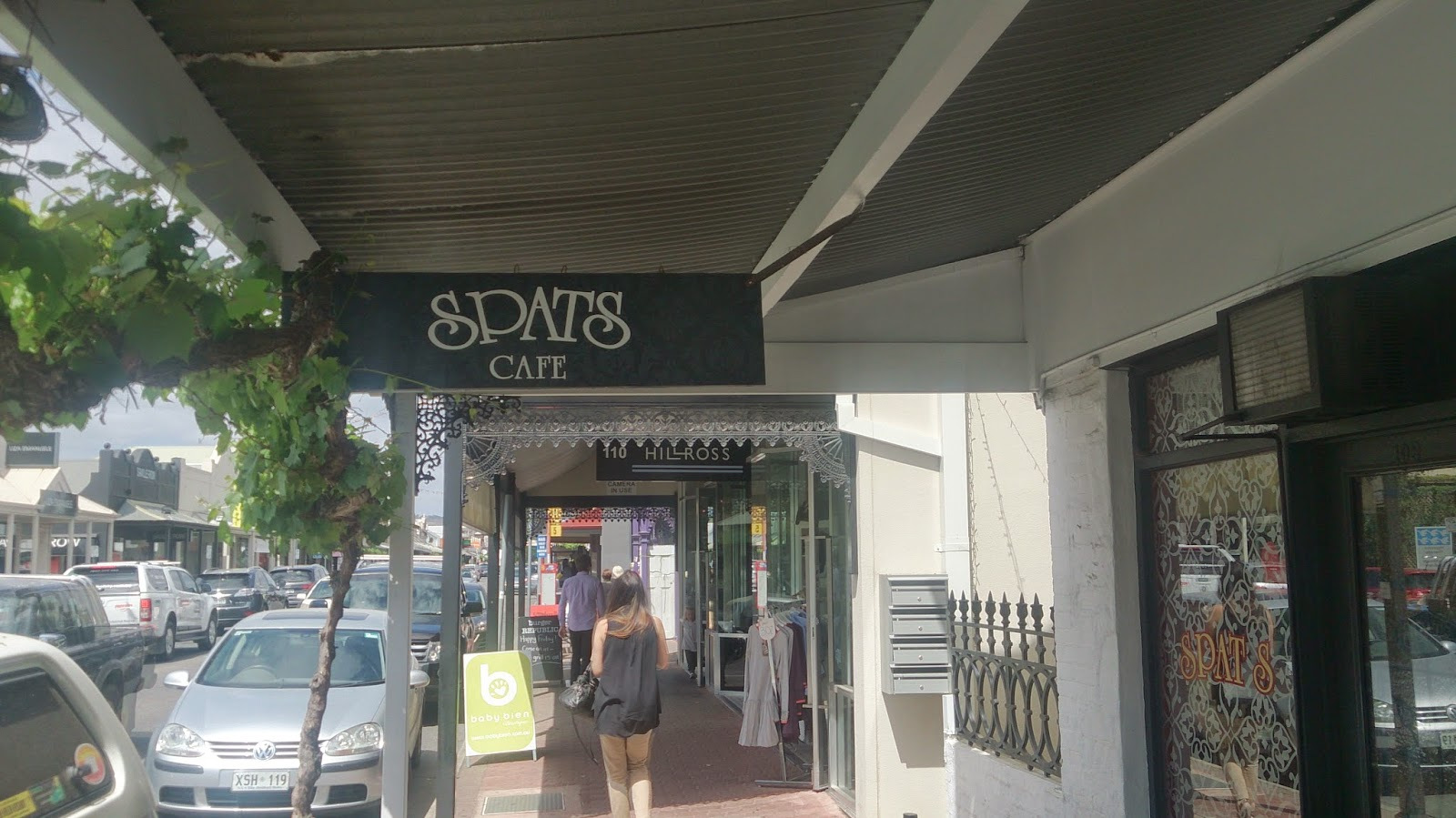 Hyde Park - Spats Cafe