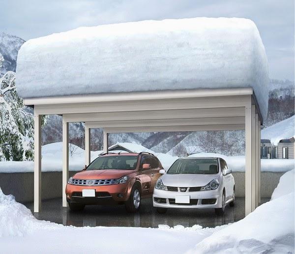建設通信新聞の公式記事ブログ 【東日本豪雪】寒冷地対応のカーポートに問い合わせ急増 ~ 建設通信