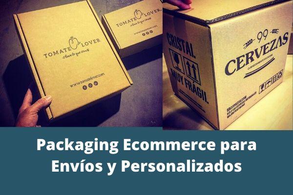 packaging ecommerce para envios y personalizado