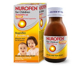 Thuốc hạ sốt Nurofen for children