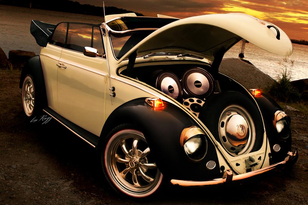 Volkswagen Beetle Convertible >> volkswagen escarabajo karmann descapotable: dibujo