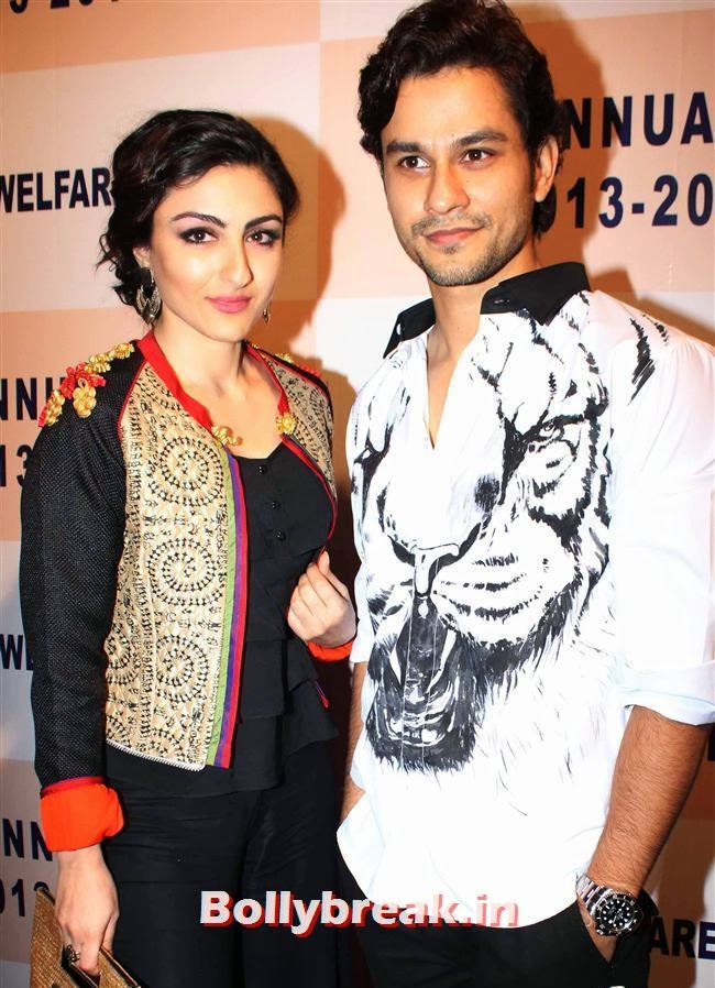Soha Ali Khan and Kunal Khemu, Celebs at  33rd Annual Day Celebrations Of Children Welfare Centre High School