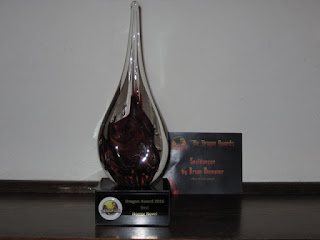 2016 Dragon Award for Best Horror Novel - Souldancer