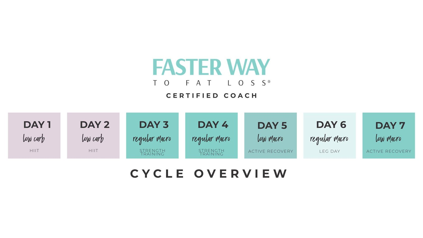 faster way to fat loss week 3