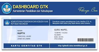 3 Langkah Cetak/Lihat Kartu Identitas GTK Pada Web GTKedit